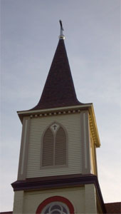 Krause Konstruction: We Do Steeples. Copper, Slate, Tile, Asphalt, Fiberglass, and Standing Seam